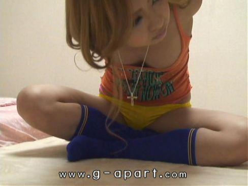 Peeping Japanese teen KOTONO's short shorts exercise