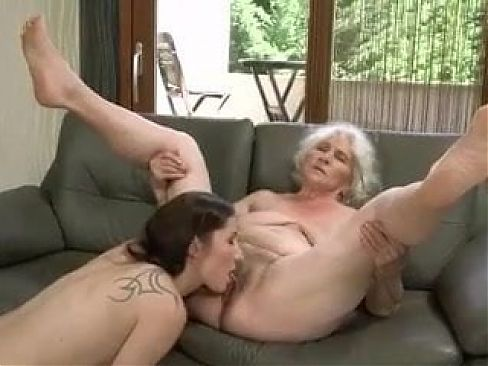 Old 84y and young lesbian