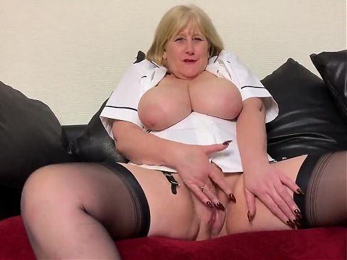 Step Mom Nurse Needs to Examine BBC Cock. Teasing young men.