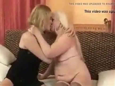 Old 61y and young 19y lesbian 2